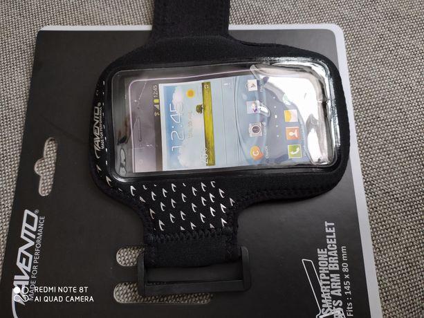 Opaska etui do biegania smartfon ramię AVENTO