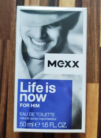 Mexx Life is now for him 50 ml NOWY