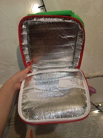 Термосумка для детей для обедов детская одежда портфель