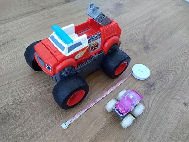 BLAZE transformuje się w wóz strażacki, UNIKAT