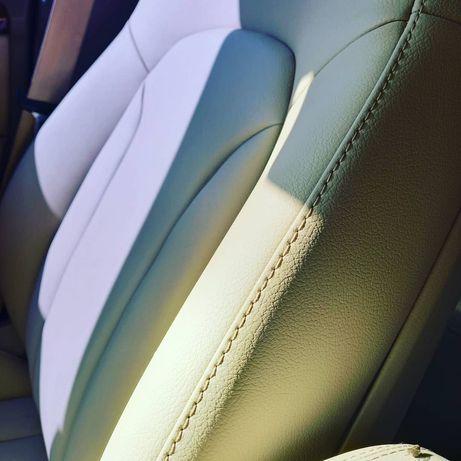 Полная перетяжка автомобильных сидений