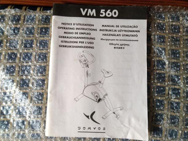 Manual Fitness VM 560