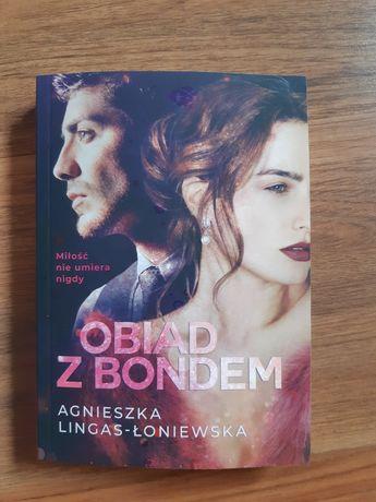 Obiad z Bondem Agnieszka Lingas-Łoniewska