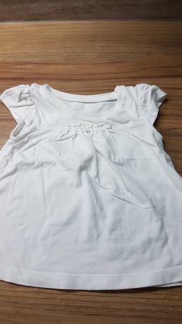 Rozm 74 bluzka bluzeczka krótki rękaw t-shirt