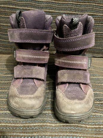 Зимние Ботинки Ecco 29 размер (18 см)