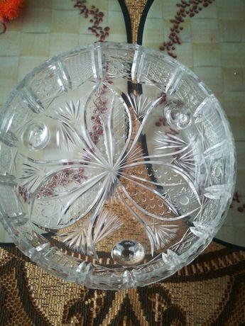 Kryształowa miska salaterka