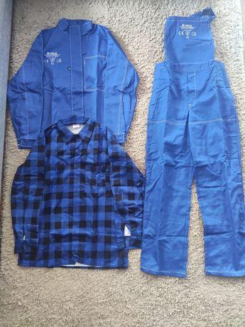 Ubrania BHP, robocze, spawalnicze robob rino. Ubrania dla spawacza