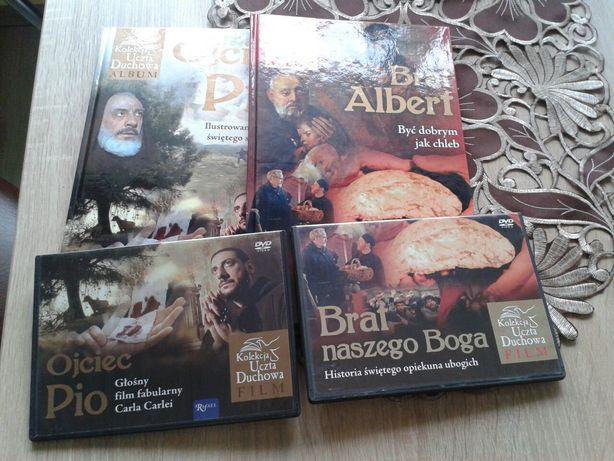 Książki z filmem święty o. Pio święty brat Albert