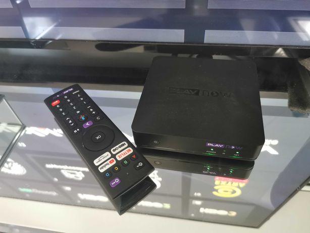 Dekoder Sagemcom Play now TV kanały za darmo lepszy niż mi box