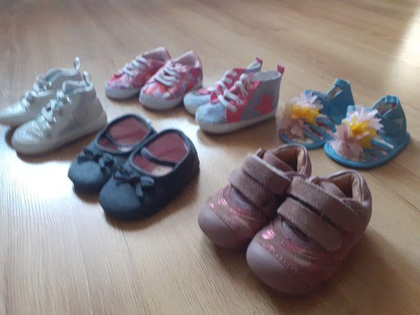 Tanie buciki dla dziewczynki