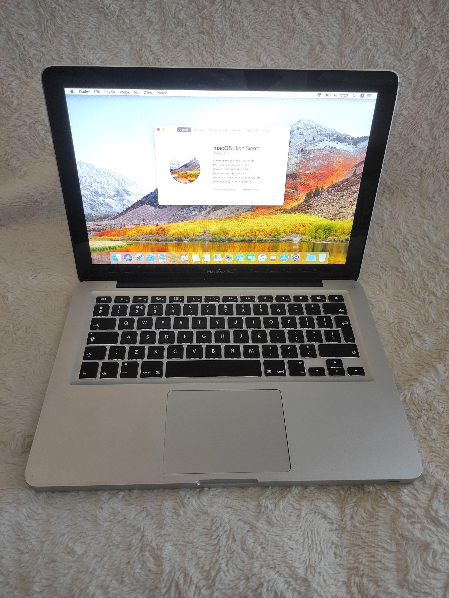 Apple MacBook pro A1278 i5 8GB 240 SSD