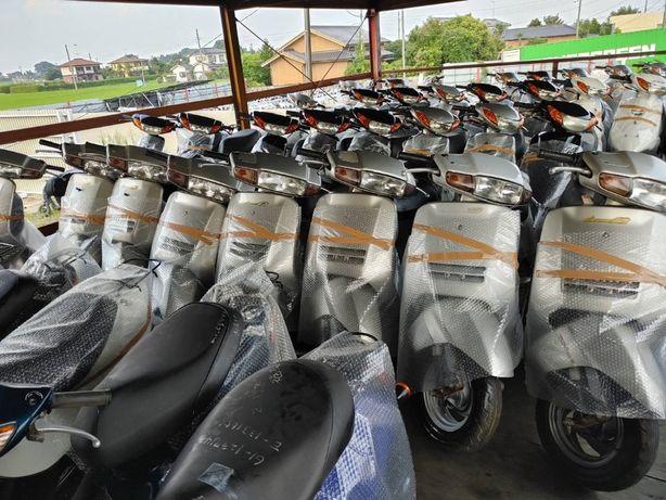 Прибув СВІЖИЙ КОНТЕЙНЕР з скутерами із Японії! Honda, Yamaha, Suzuki