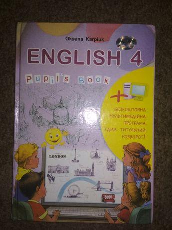 Англійська мова 4клас