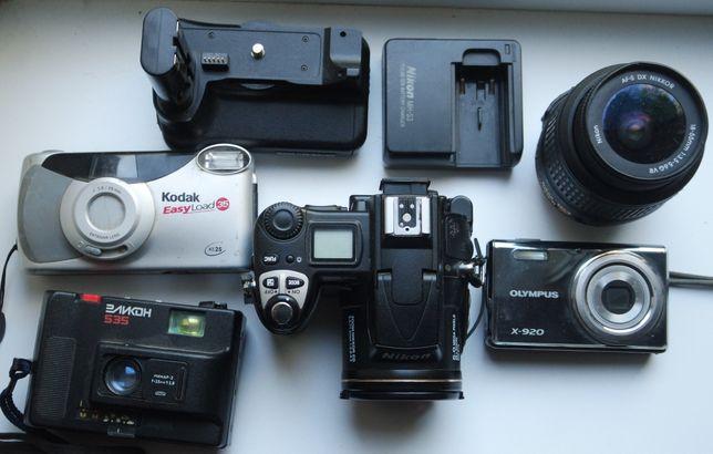 Фотоаппараты и комплектующие Nikon, Kodak, Olympus, Эликон