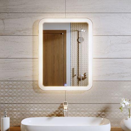 Зеркало с LED подсветкой. Дзеркало з підсвіткою. Зеркало в ванную