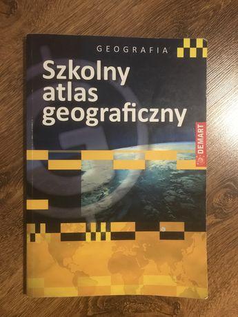 Szkolny atlas geograficzny DEMART geografia gimnazjum liceum
