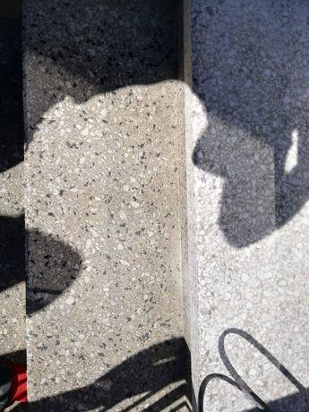 Lastryko, Marmur, Lastriko  - renowacja szlifowanie taras terazzo