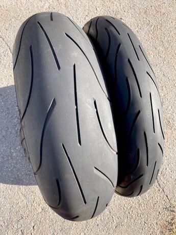 120 70 17 + 180 55 17 Michelin Power, моторезина, покрышка, мотошина