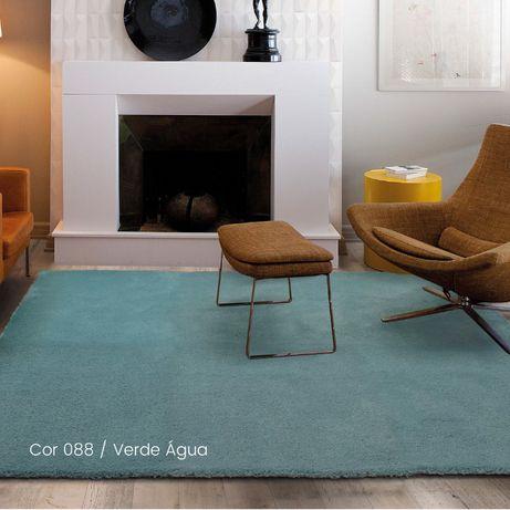 Tapete Feelings - Lavável - Verde Água- 200x290cm By Arcoazul