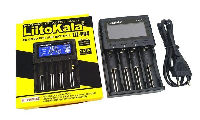 Зарядное устройство LiitoKala Lii-PD4 для аккумуляторов Ориг! литокала