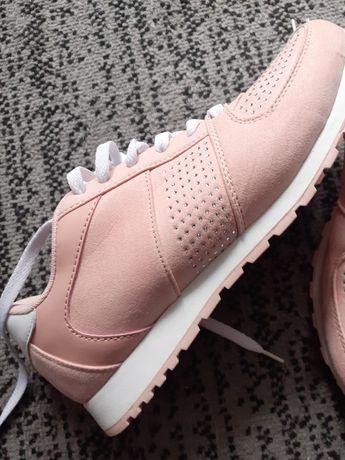 Buty sportowe kolor udrowy róż roz  41