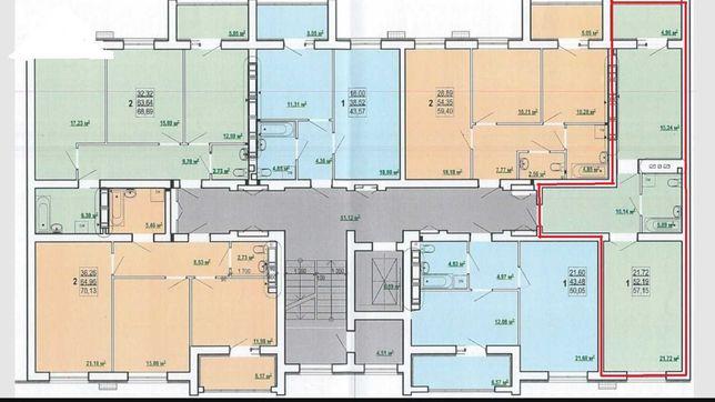 Продам 1 комнатную квартиру на Алексеевке, ЖК Победа-2, Б-8