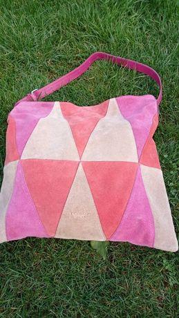 Новая сумка трехцветная. Бренд Tosca Blu.