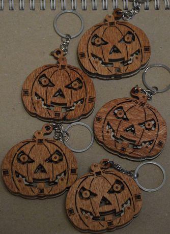 Брелок/ брелки тыква на хэллоуин /Halloween
