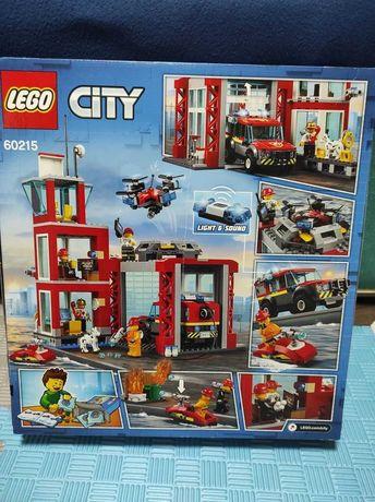 Лего Сити пожарная часть с Америки.