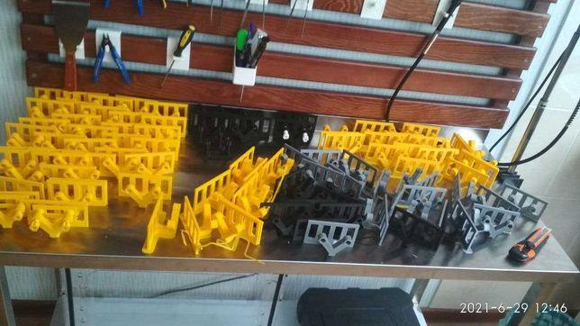 3Д печать PLA, CoPEt, TPU + моделирование