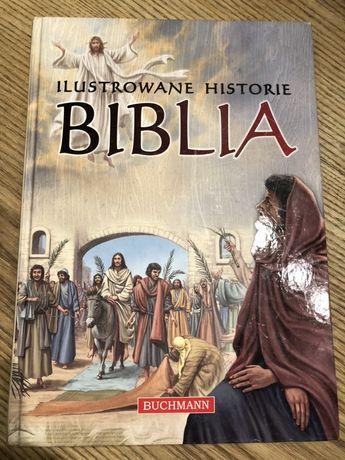 Ilustrowane historie Biblia wyd Buchmann