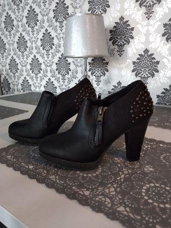 Eleganckie damskie buciki rozm.38