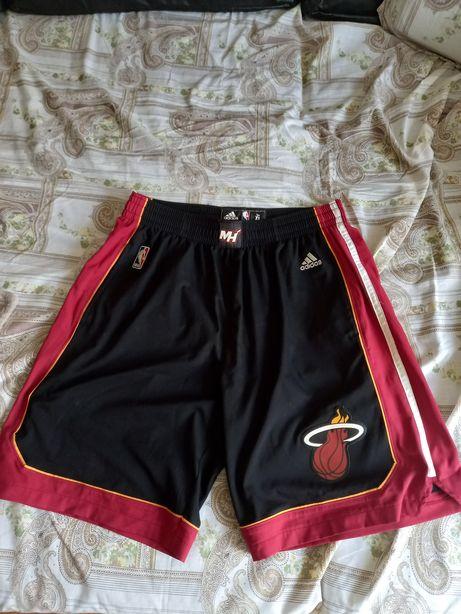 Calções originais equipa NBA Miami Heat Adidas