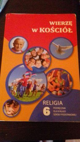 Podręcznik Wierzę w kościół Religia klasa 6