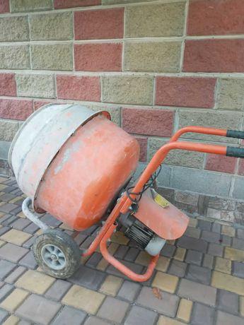 Бетономешалка горизонтальная редукторная 140 литров