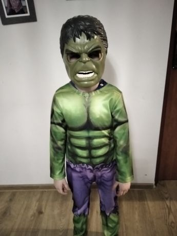 Strój karnawałowy Hulk