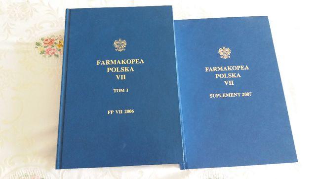 FARMAKOPEA Polska VII zestaw 2 tomy Farmacja