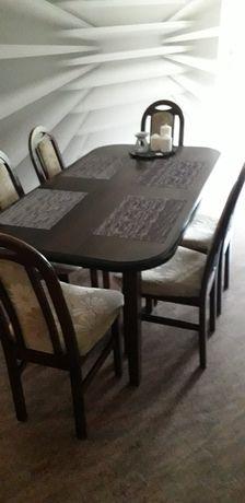 Stol + 6 krzesel