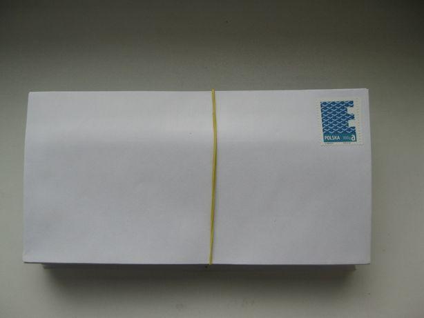 Znaczki aktualne pocztowe nowe 100szt x 3.30zł poczta polska na kopert