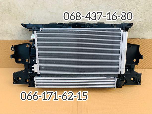Комплект радиаторов рено меган 3 телевизор вентилятор Renault Megane 3