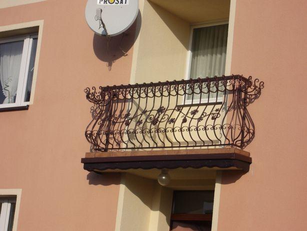 Balustrada balkonowa, poręcz, barierka balkon