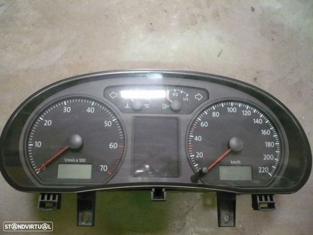 Quadrante / Conta-km - Vw Polo ( 2005/2009 ) 40 MIL KM
