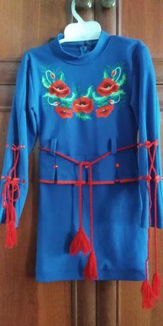 Платья вышиваночка