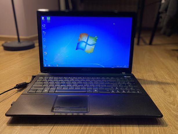 Робочий ноутбук Asus k53by 4Гб SSD-240Гб ліцензія win7