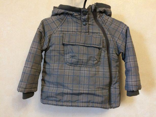 демисезонная куртка zara baby 12-18 м