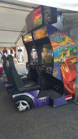 Podwójny symulator samochodowy Cruis'n World - Nintendo - Arcade
