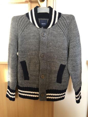 Gap kids śliczny sweter dla chłopca 4-5lat