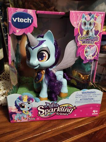 Интерактивная игрушка VTech Myla's Sparkling Friends, Riley The Unicor