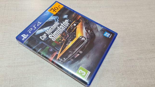 Car Mechanic Simulator na PlayStation 4 PS4 mechanik samochodowy