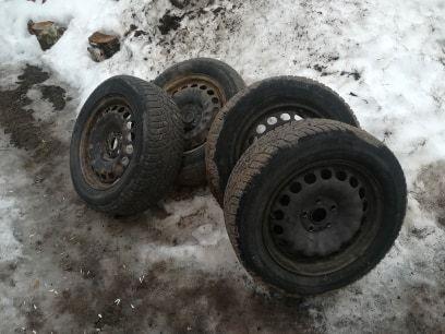 Koła zimowe 16, 205/60r16, 5x112, VW passat, audi a4, b5 b6